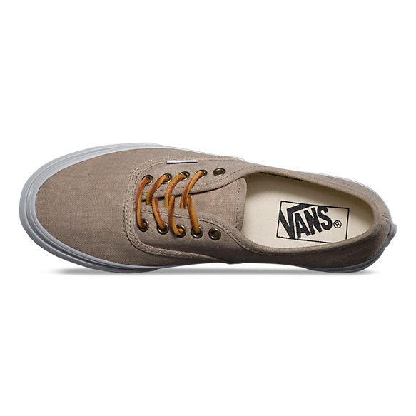 4de6b64bfa I went Vans crazy about 2 years ago and after laying off and going back to  the classic converse I HAD to go back to Vans. LOVE! Washed Authentic Slim