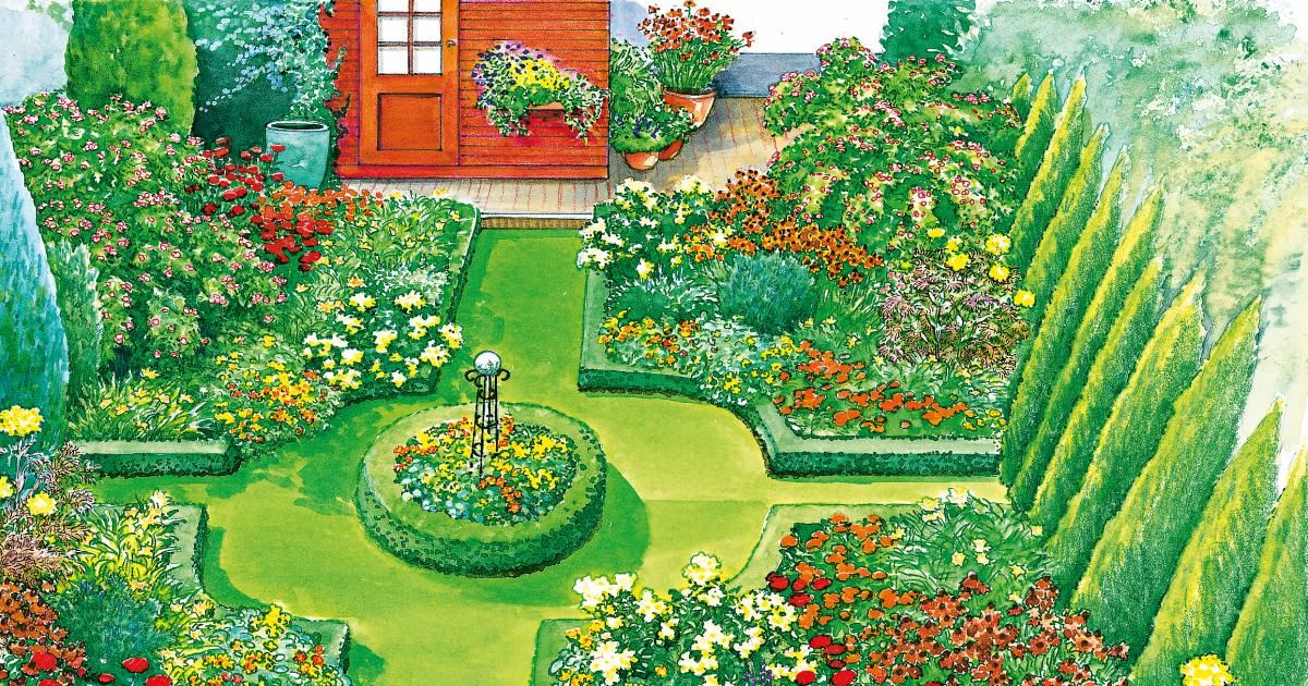 Ideen Für Einen Schönen Garten Ratgeber: Ideen Für Einen Schmalen Hausgarten