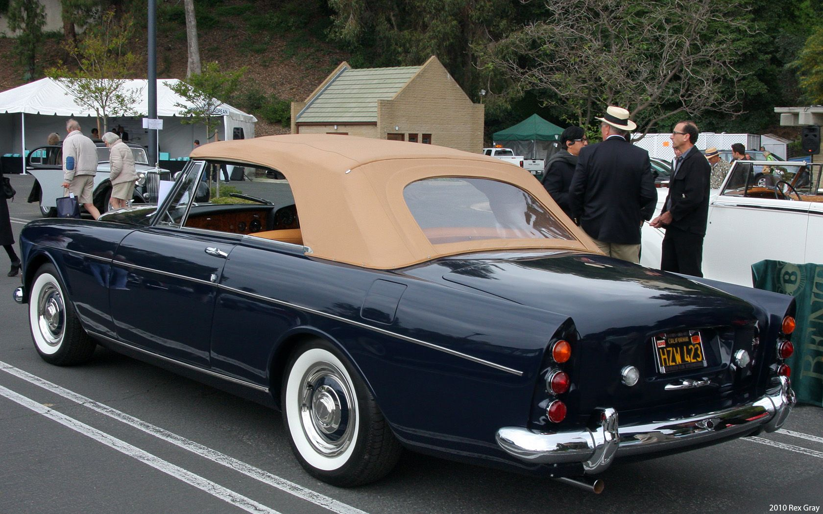 1965 Bentley Continental S3 Mulliner Park Ward Convertible