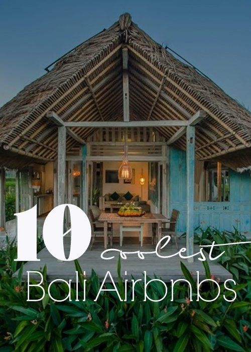 Looking for a hotel alternative to a hotel in Bali? Here are some of my favorite Bali airbnb for all tastes and budgets. #bali #indonesia #baliairbnb #baliaccommodation