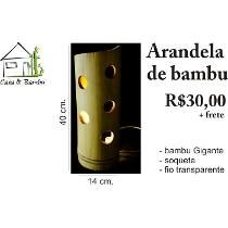 Arandela De Bambu 14x40
