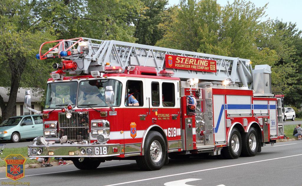 Sterling Volunteer Fire Company Apparatus Fire Trucks Fire Dept Fire Engine