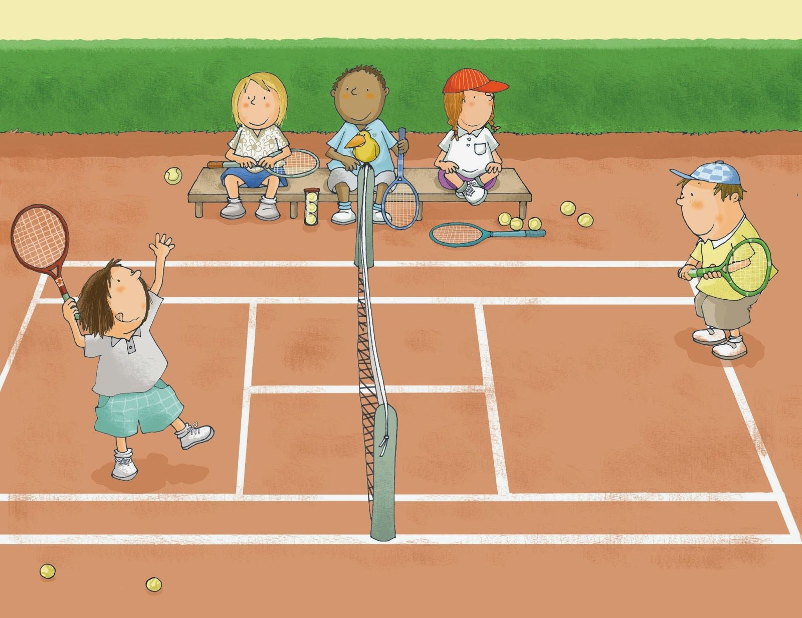Ilustracion Tennis In 2019 Drawing Sports
