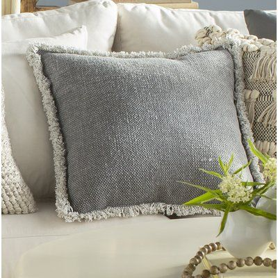 August Grove Henny Square Cotton Pillow Cover And Insert Throw Pillows Cotton Throw Pillow Pillows