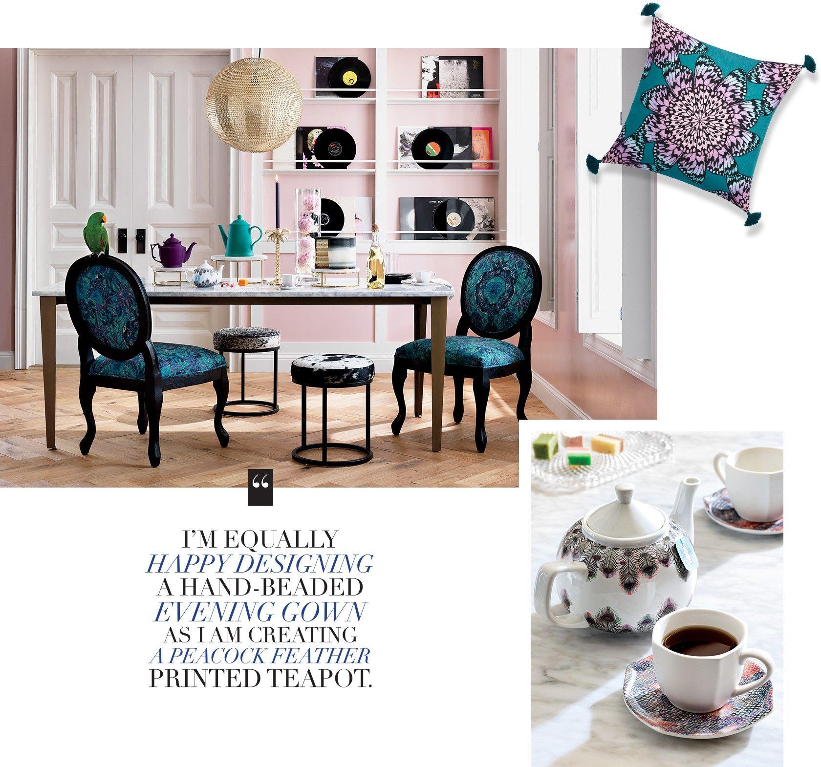 Inexpensive Home Furniture: Matthew Williamson For