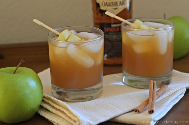 Perfect for Fall: Spiked Apple Cider Drink Recipe with Spiced Rum - A Crafty Spoonful
