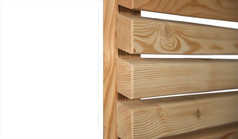 Sichtschutz Bei Meingartenversand De Kaufen Sichtschutz Holz Pavillon Larchenholz