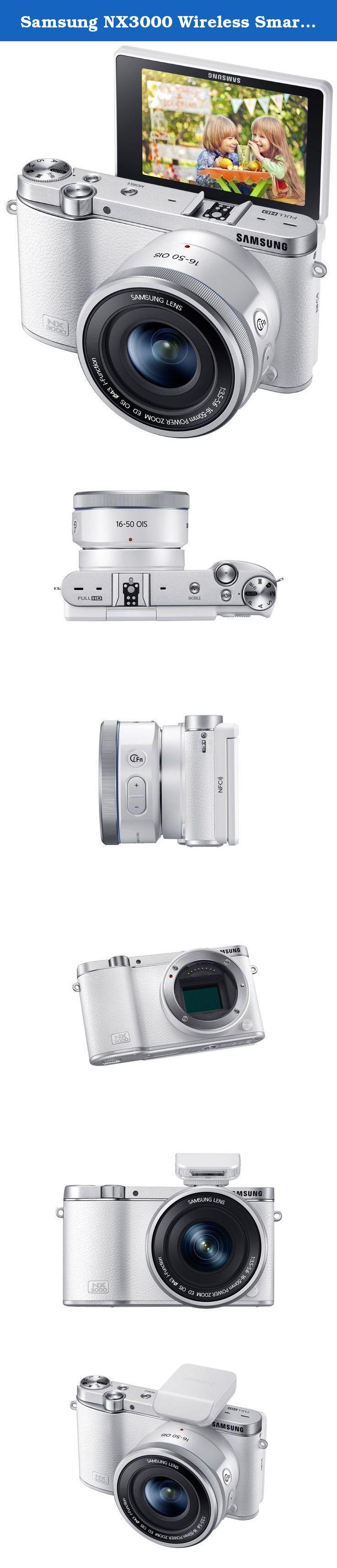Samsung NX3000 Wireless Smart 20 3MP Mirrorless Digital Camera with 16 50mm OIS Power Zoom