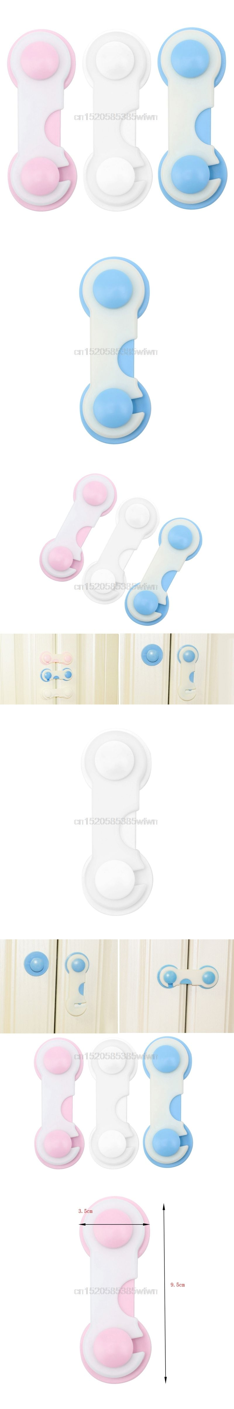 Pcs baby kids safety drawer cabinet door refrigerator security lock