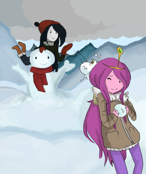 Marci and PB by Flamingoz.deviantart.com on @deviantART