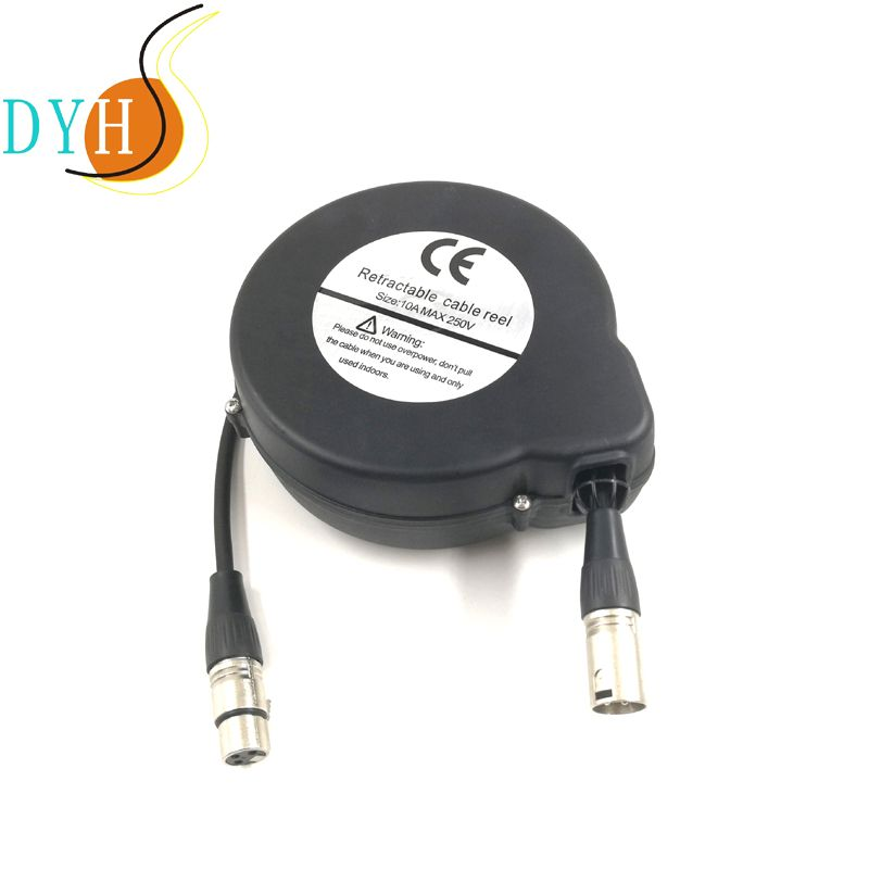 Microphone Cable Retractor