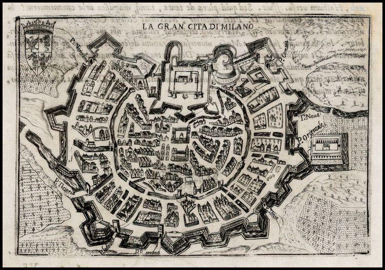 La Gran Cita Di Milano - 1599