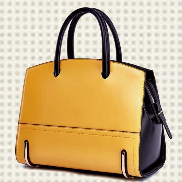 ca136b6af0b86 Aliexpress.com   Comprar De cuero de lujo de mano bolsas de mujer de  grandes bolsos de mujer para mujer marcas famosas bolsas de hombro para  mujeres ...