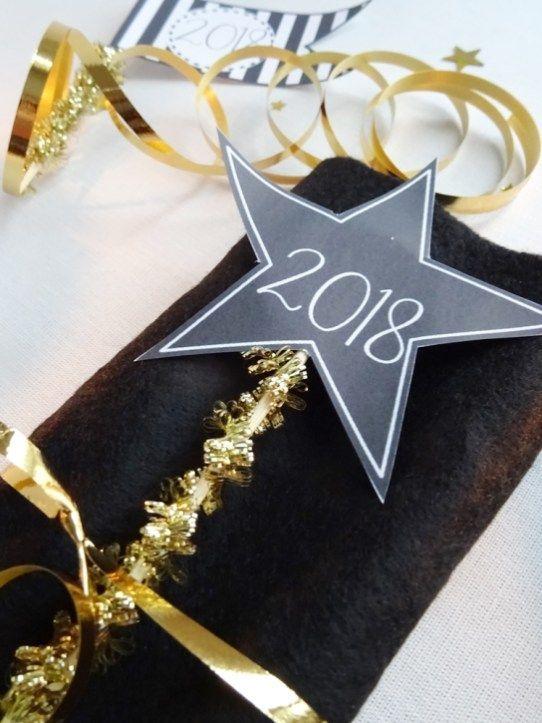 Soirée du Nouvel An-Déco de table papier - Curieusement Bien #maquillagenouvelan Soirée du Nouvel An-Déco de table papier - Curieusement Bien