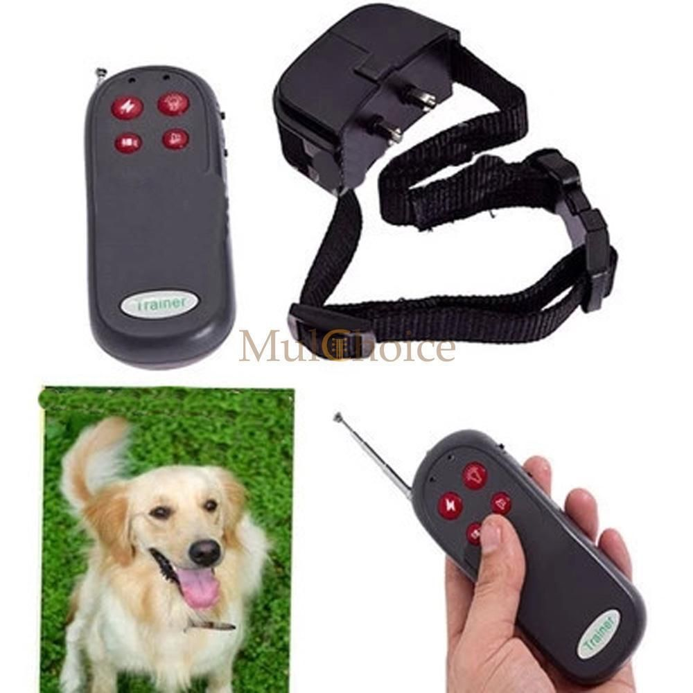 New 4in1 Remote Control Dog Training Shock Collar Pet