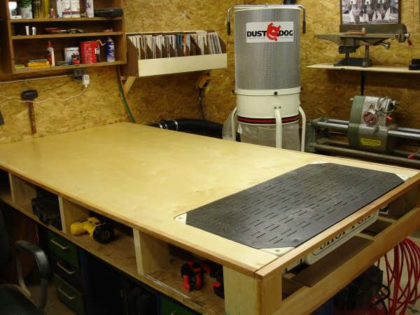 Downdraft Sanding Table Plans Thread For A
