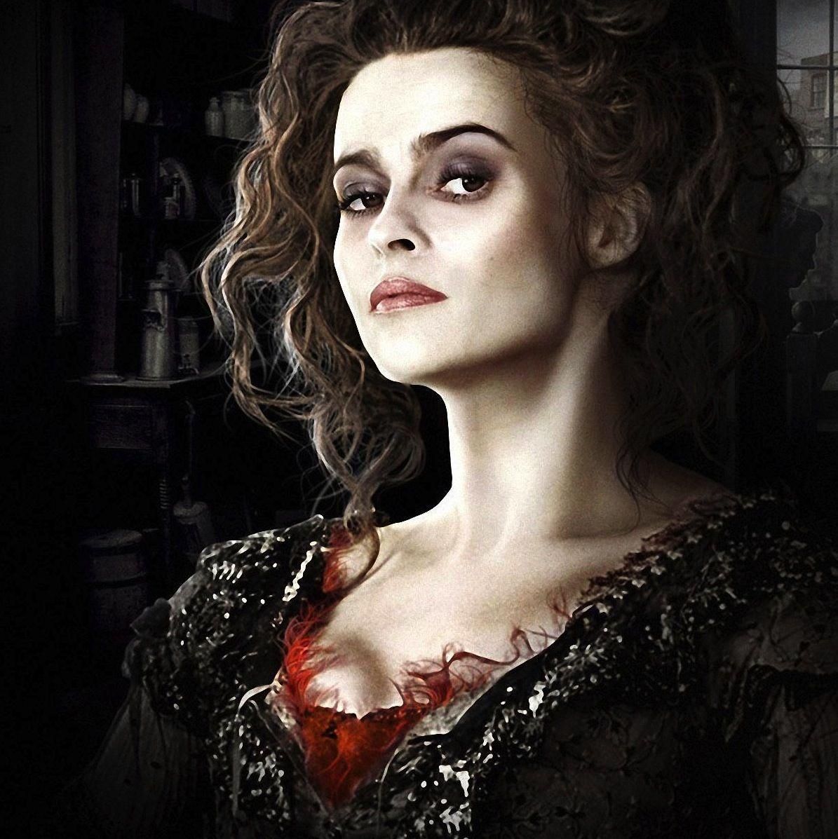 I Lovett Helena Bonham Carter Mrs Lovett Tim Burton Films