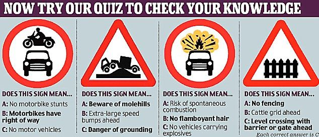 End Of The Road For Signs Clutter Crackdown On Confusion Facing Drivers Signs Road Signs Sign Meaning