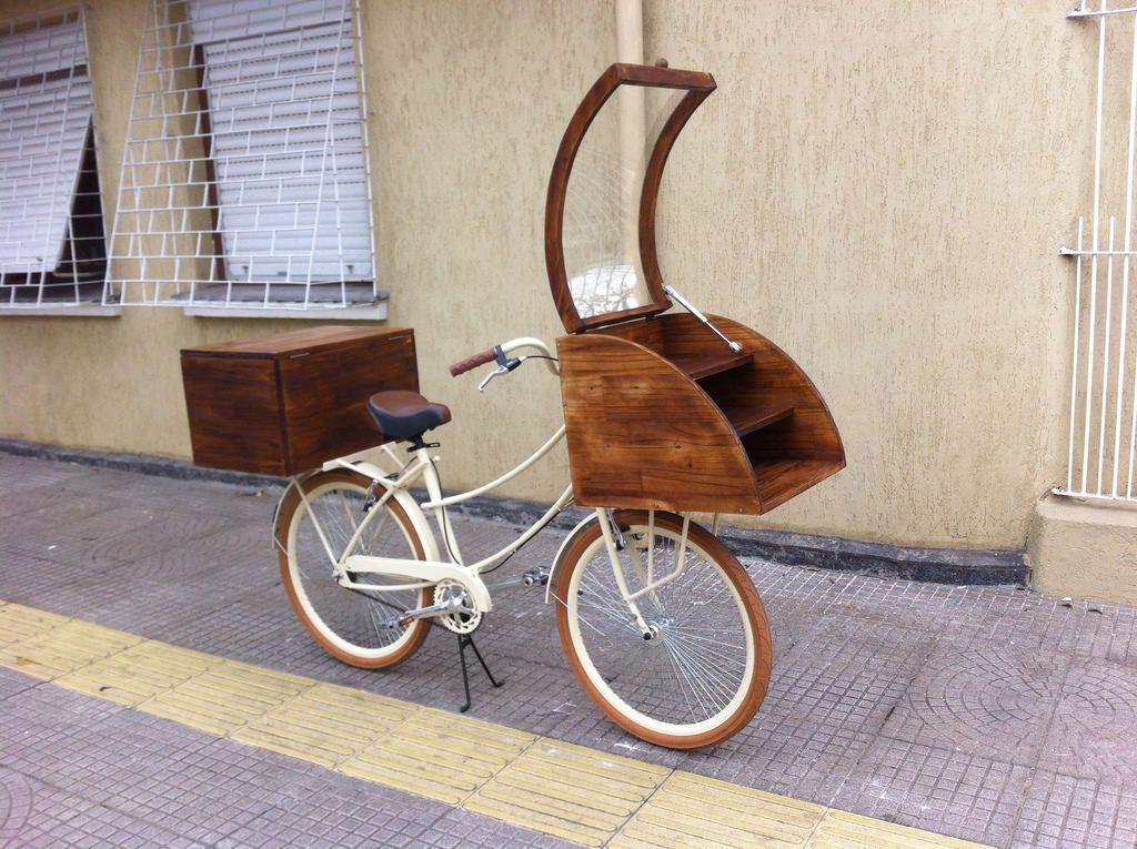Food Bike Doces Art Trike Com Imagens Expositores Bau