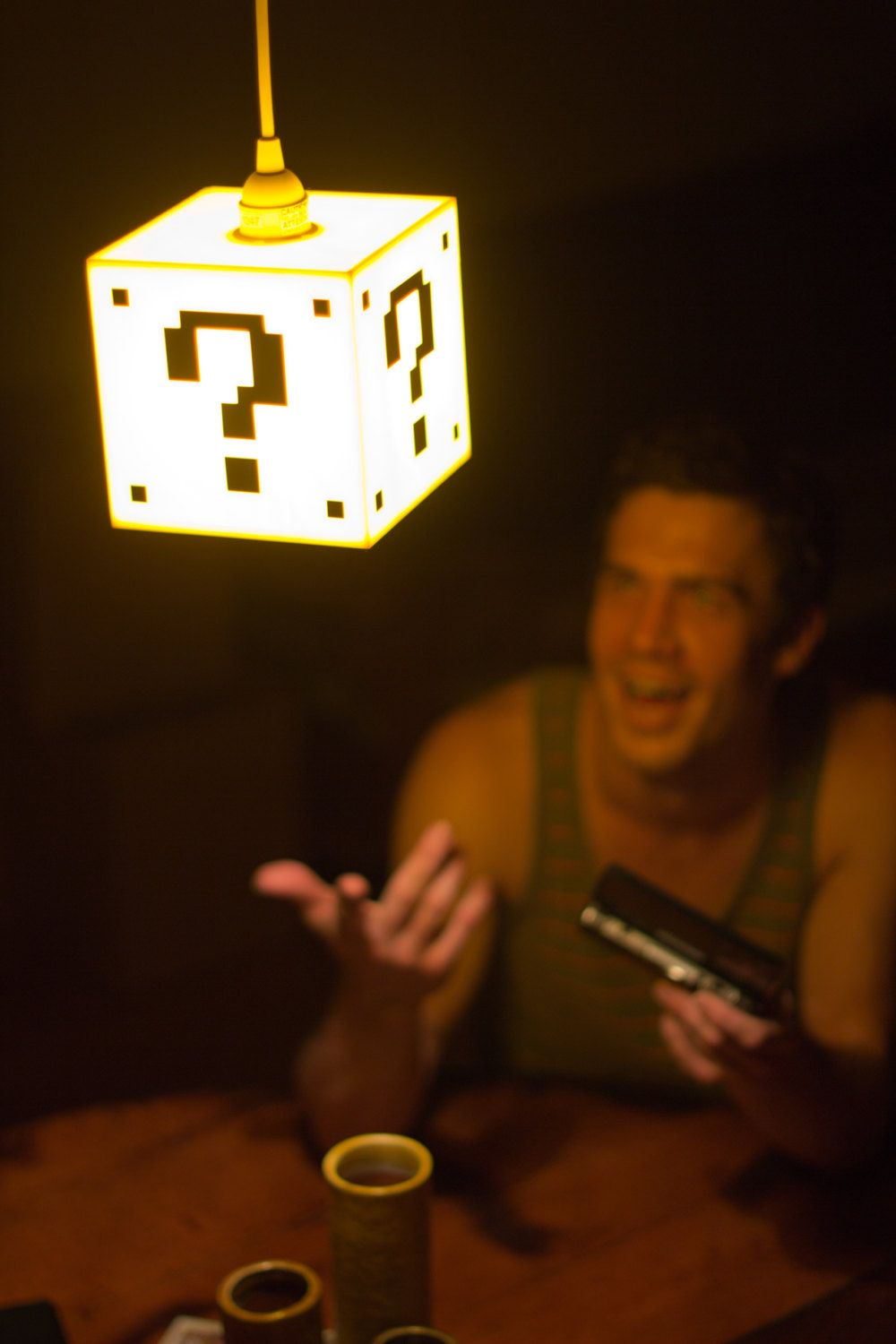 Mario Question Mark Block Hanging Lamp This Or That Questions