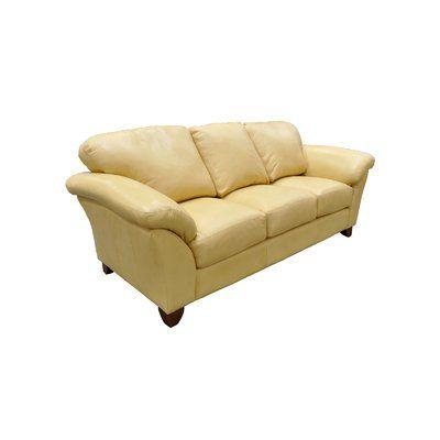 Omnia Leather Nevada Sofa In