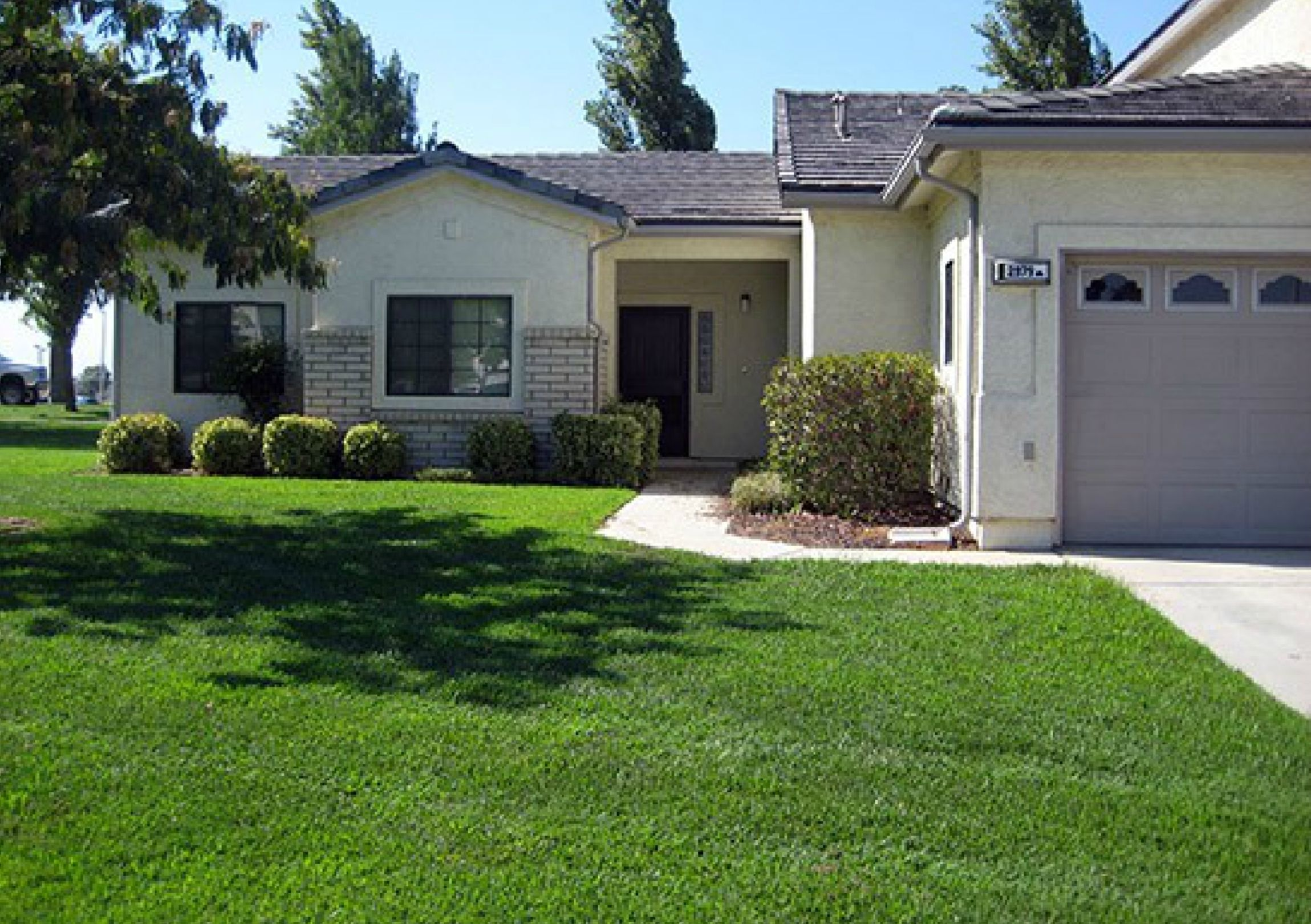 NAS Lemoore Constellation Park Neighborhood Duplex style homes