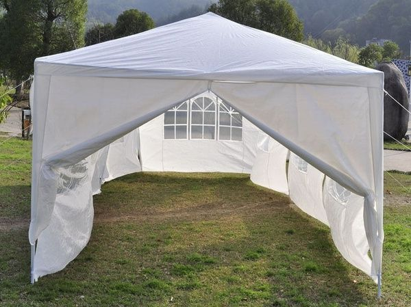 8 Side Walls 10 X30 Outdoor Canopy Party Wedding Tent White Gazebo Pavilion Wish Canopy Outdoor Outdoor Pavilion Gazebo
