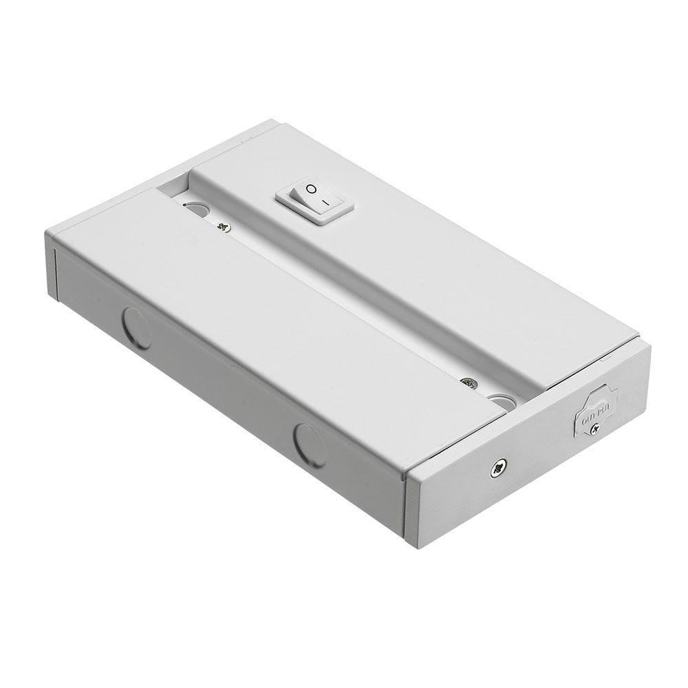 White Led Undercabinet Junction Box