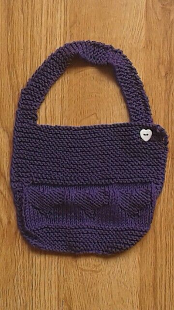 Bib I made for Baby Daniel. Free pattern from Let's Knit ...