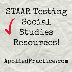 #STAAR testing US History EOC for #Texas! Get your