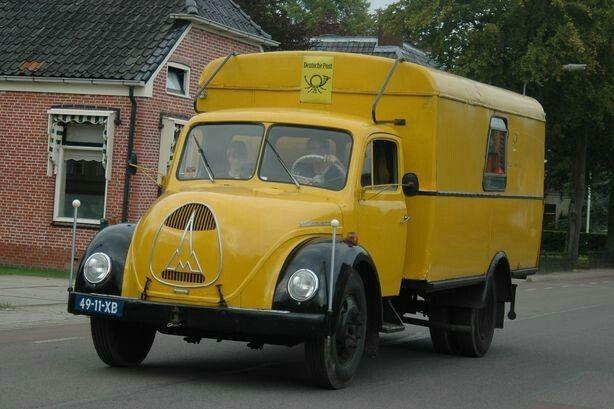 Magirus van de Deutsche Post Deutz, Kraftfahrzeug, Lkws