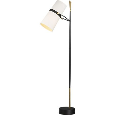 Riston Floor Lamp + Reviews | Crate and Barrel | Floor ... on Riston Floor Lamp  id=51835