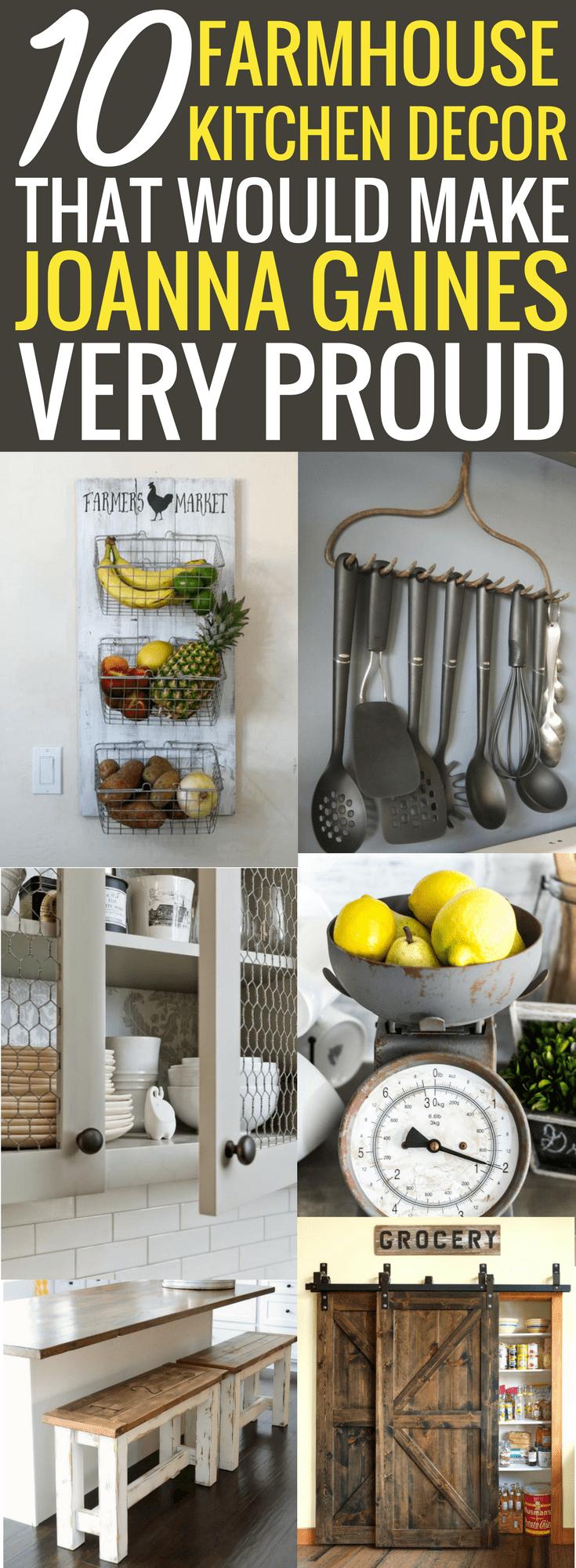 10 farmhouse kitchen decor ideas that would make joanna gaines proud farmhouse kitchen decor on farmhouse kitchen joanna gaines design id=19075