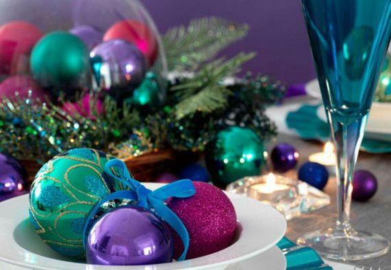 Christmas Balls Peacock Holiday Pinterest