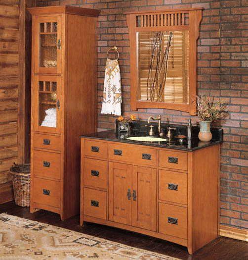 wonderful corner bathroom vanity | Pin by Suka Designs on Bathroom in 2019 | Craftsman ...