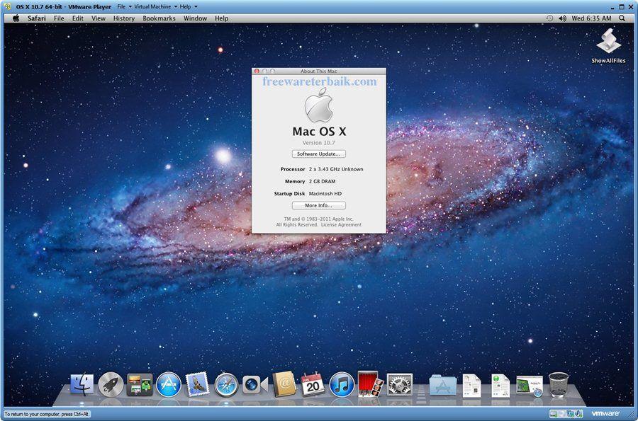 Unlocker to Install Mac OSX at VMWare 8 Osx, History