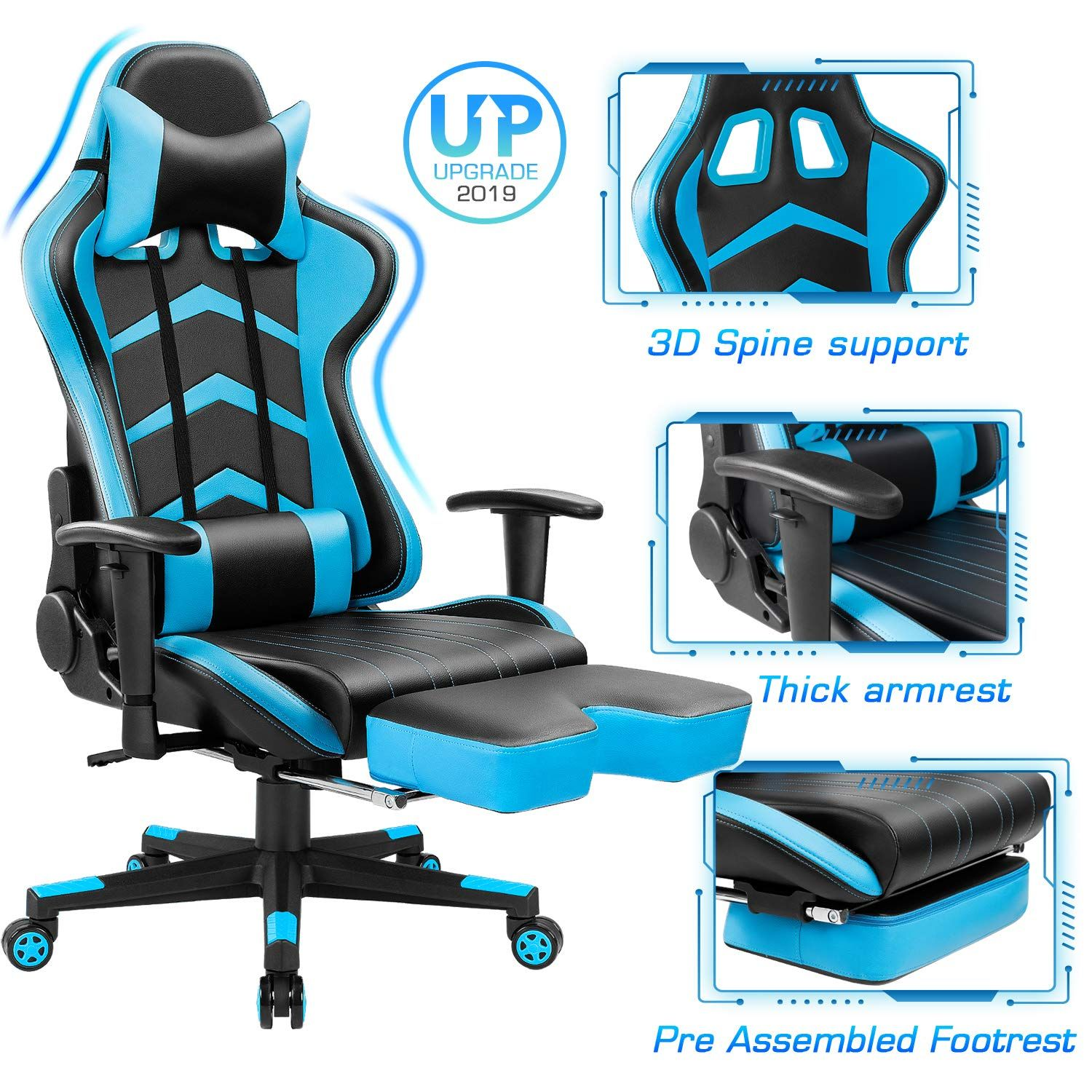 Top 10 Best Gaming Chairs Under 200 In 2020 Gaming Chair Racing Chair Chair