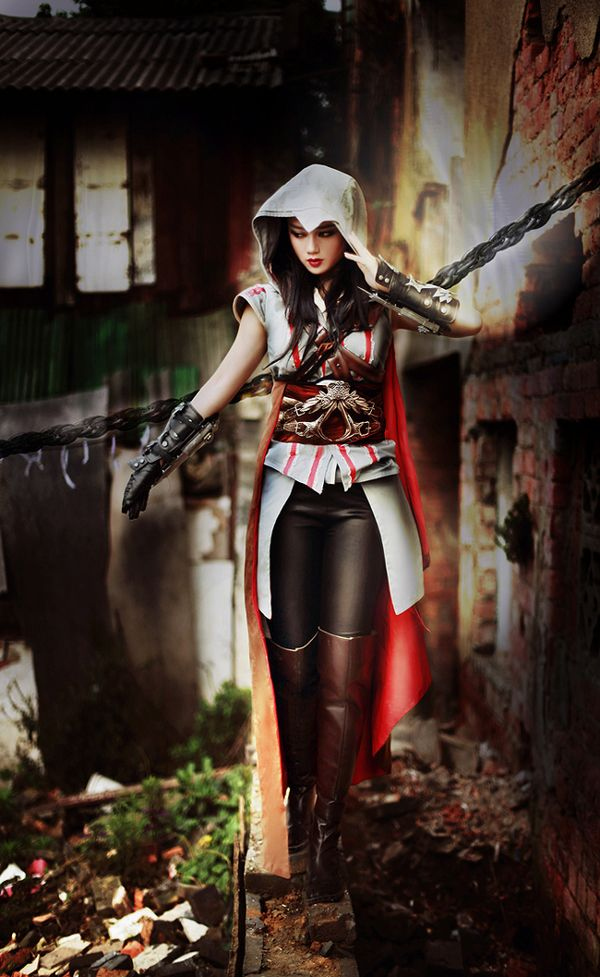 Assassin S Creed Ezion Cosplay Woman Cosplay Outfits Cosplay
