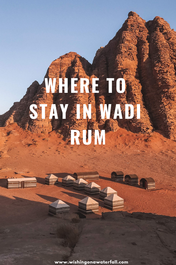 Where to stay in Wadi Rum #wadirum