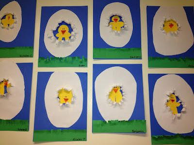 hatching chicks. Would be perfect for directions and spatial concepts. - Re-pinned by @PediaStaff – Please Visit http://ht.ly/63sNt for all our pediatric therapy pins