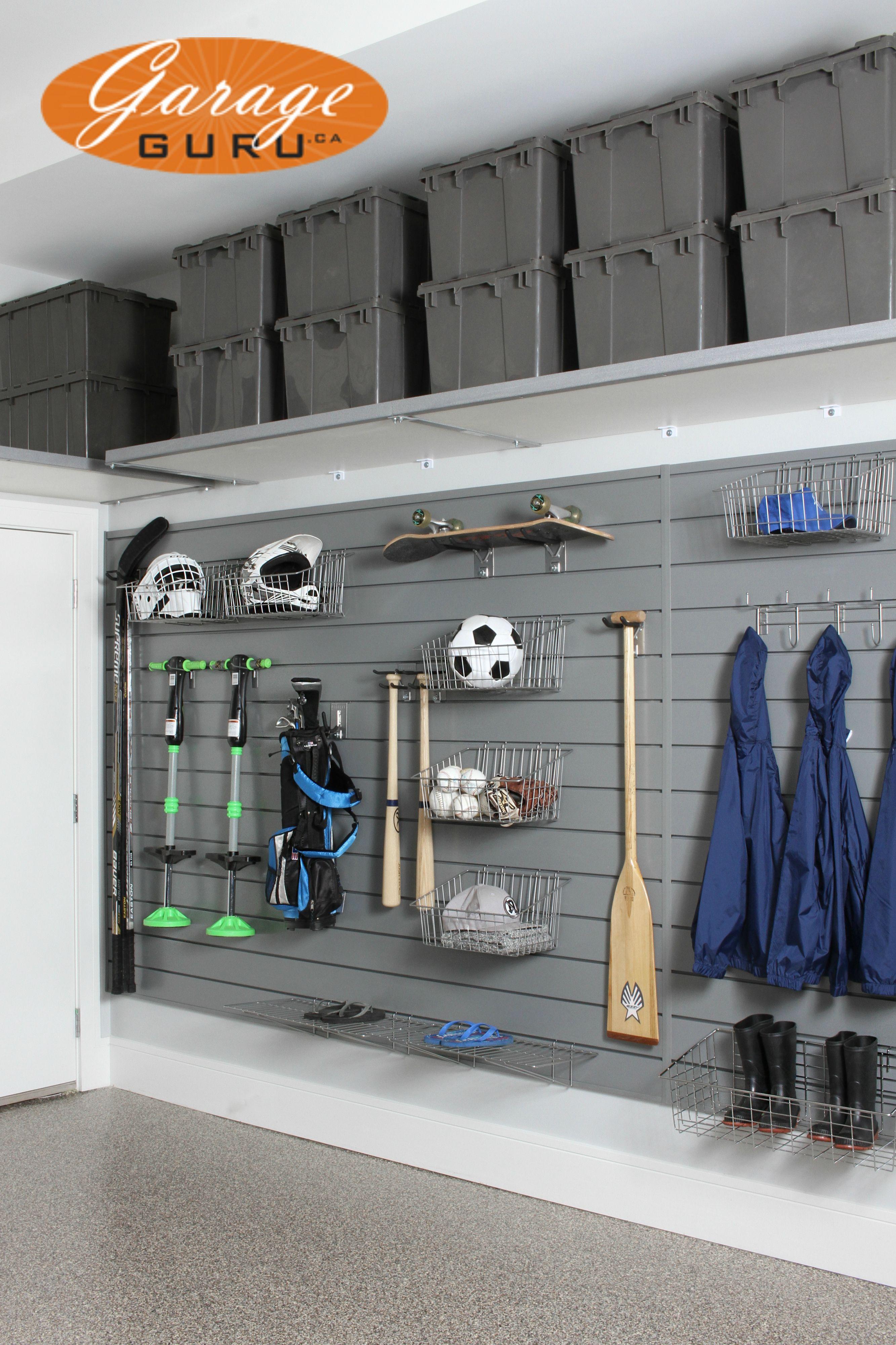 Garage Storage For Sports Gear Www Garageguru Ca