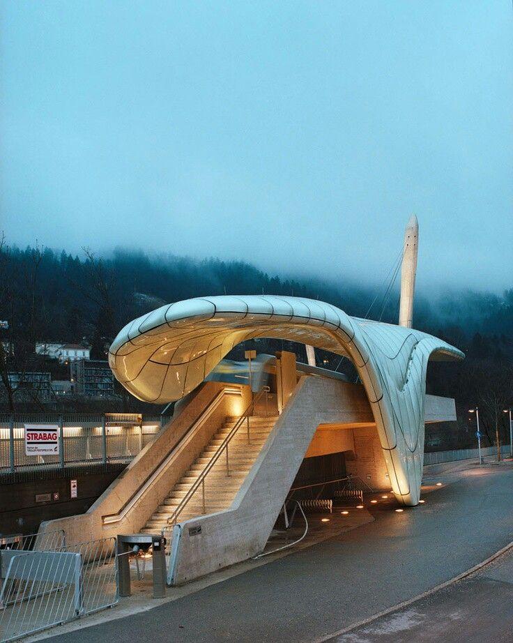 Innsbruck zaha hadid amazing architecture pinterest for Interior design innsbruck