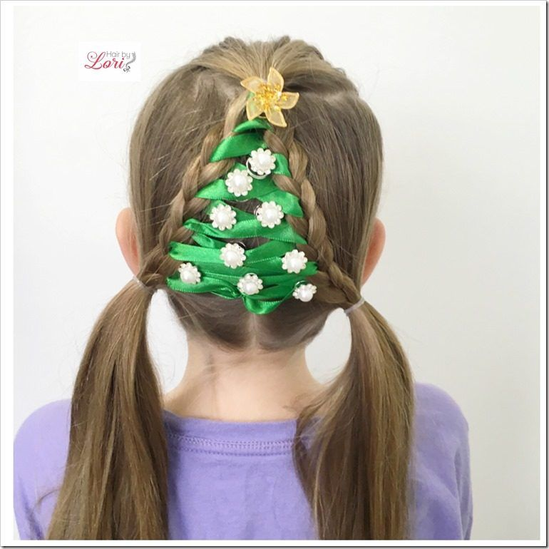 20 easy christmas hairstyles for little girls christmas 20 easy christmas hairstyles for little girls pmusecretfo Gallery
