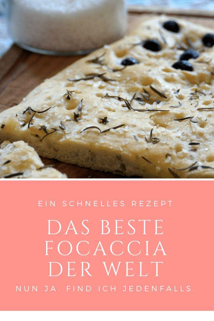 Photo of Das beste Focaccia der Welt: Leckeres Brot-Rezept
