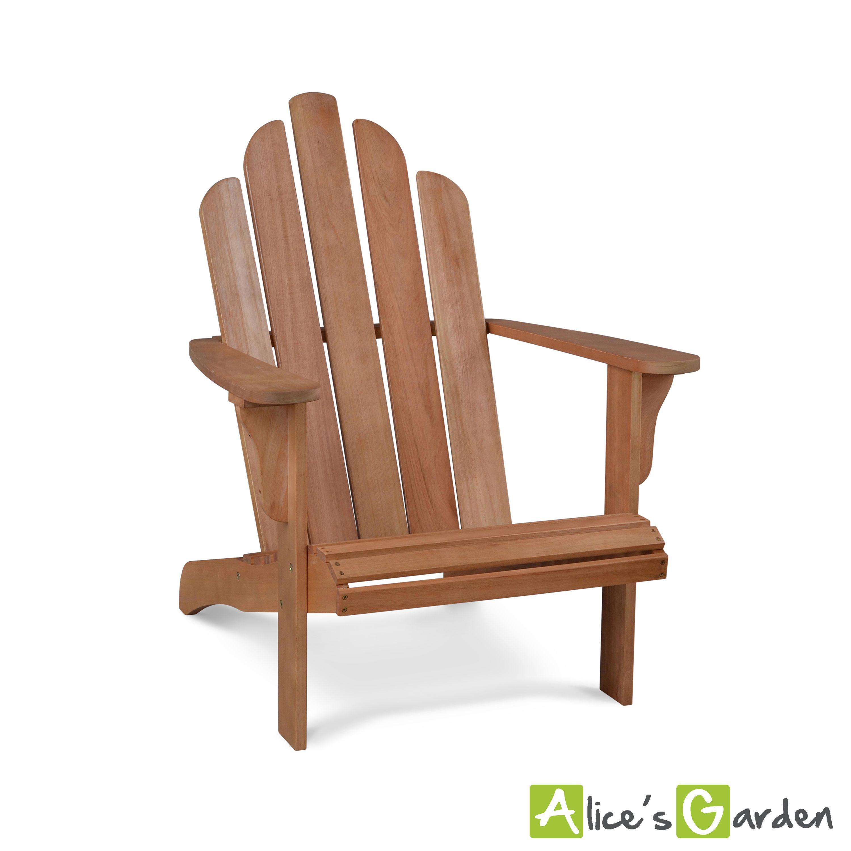 Adirondack : fauteuil de jardin en bois eucalyptus #jardin #détente ...