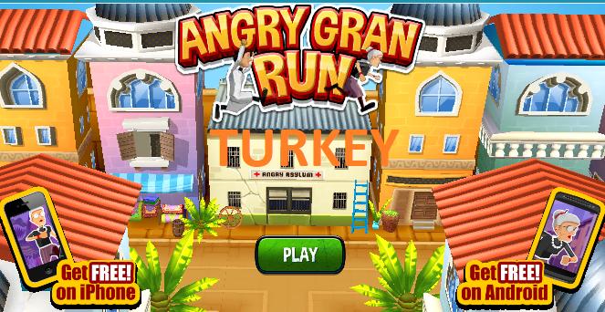 ANGRY GRAN RUN TURKEY