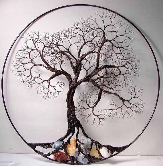 Wire Tree Of Life. Ancient spirit sculpture by CrowsFeathers ...