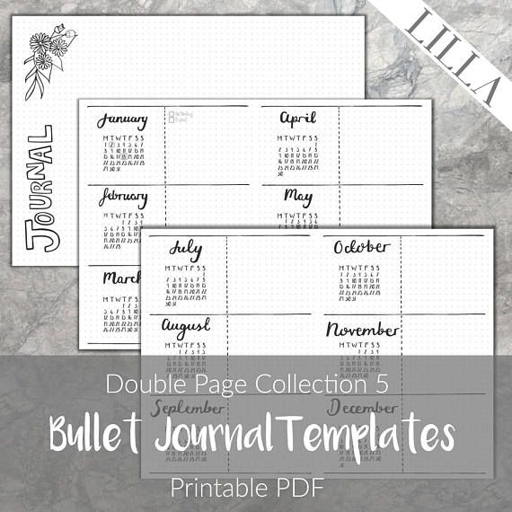 Bullet journal templates spring printable monthly calendar brain bullet journal templates spring printable monthly calendar saigontimesfo
