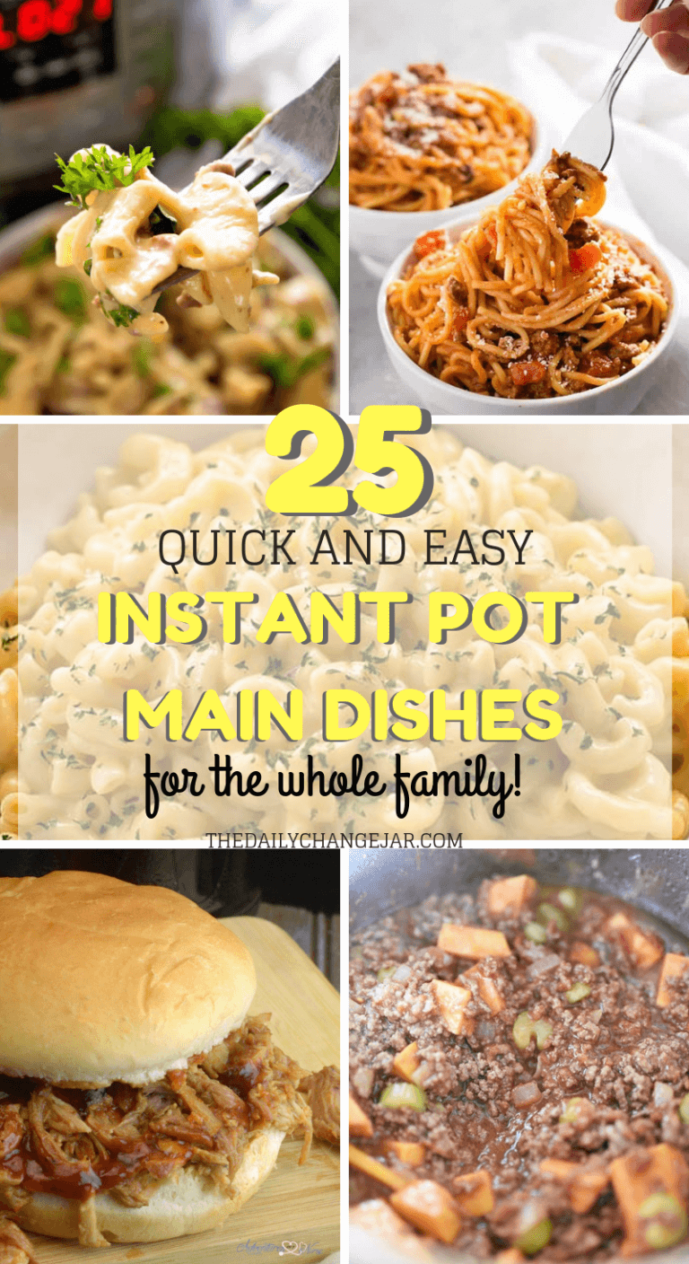 25 Quick Amp Easy Instant Pot Dinner For Busy Nights The Daily Change Jar Instant Pot Dinner