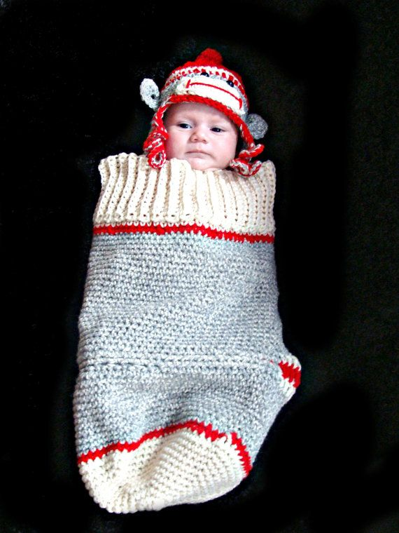 Sock monkey cocoon and hat set crochet pattern pdf 411 monkey sock monkey cocoon and hat set crochet pattern pdf 411 dt1010fo
